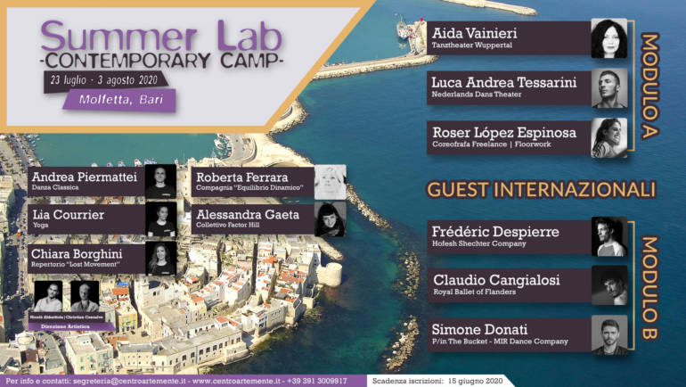 Summer Lab – Contemporary Camp